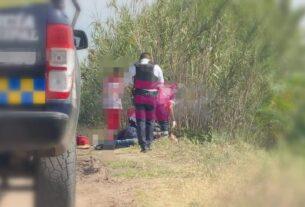 Maniatado y golpeado localizan a hombre en camino terracero. 2