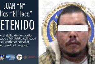 Líder criminal del CSRL es capturado por la FGEG, SSPE y autoridades federales. 2