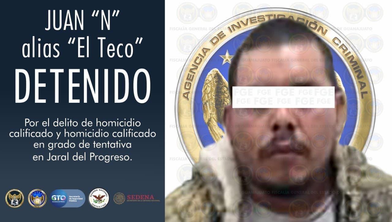 Líder criminal del CSRL es capturado por la FGEG, SSPE y autoridades federales. 1