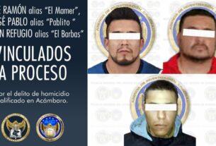 Jefe de plaza e integrantes del CSRL han sido vinculados a proceso penal por el delito de homicidio en agravio de un abogado en Acámbaro. 2