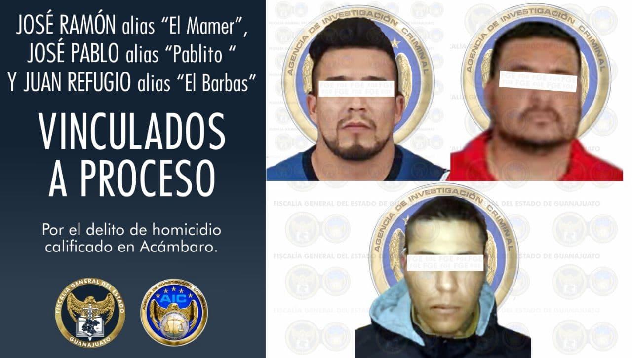 Jefe de plaza e integrantes del CSRL han sido vinculados a proceso penal por el delito de homicidio en agravio de un abogado en Acámbaro. 1