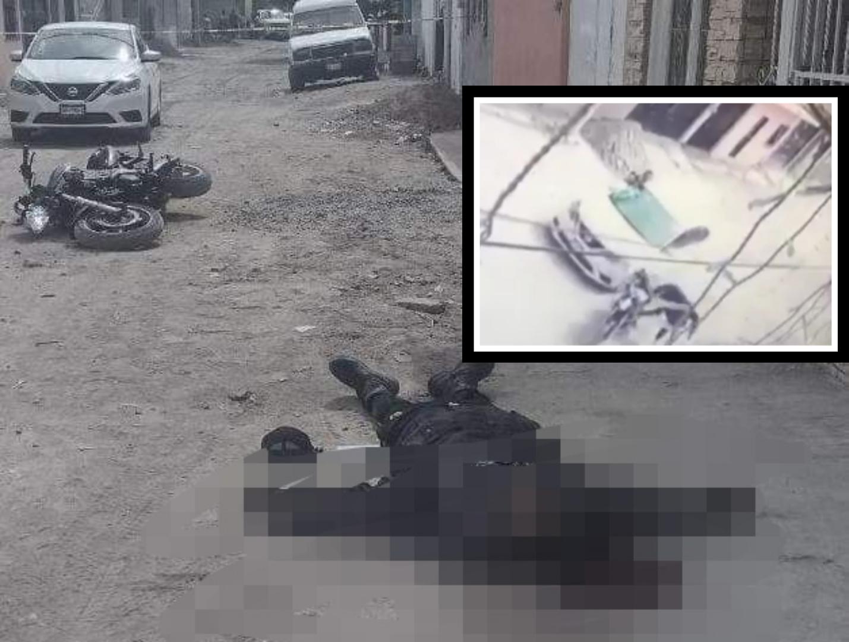 Perseguido por ministeriales, motociclista presuntamente se dispara y muere. 1