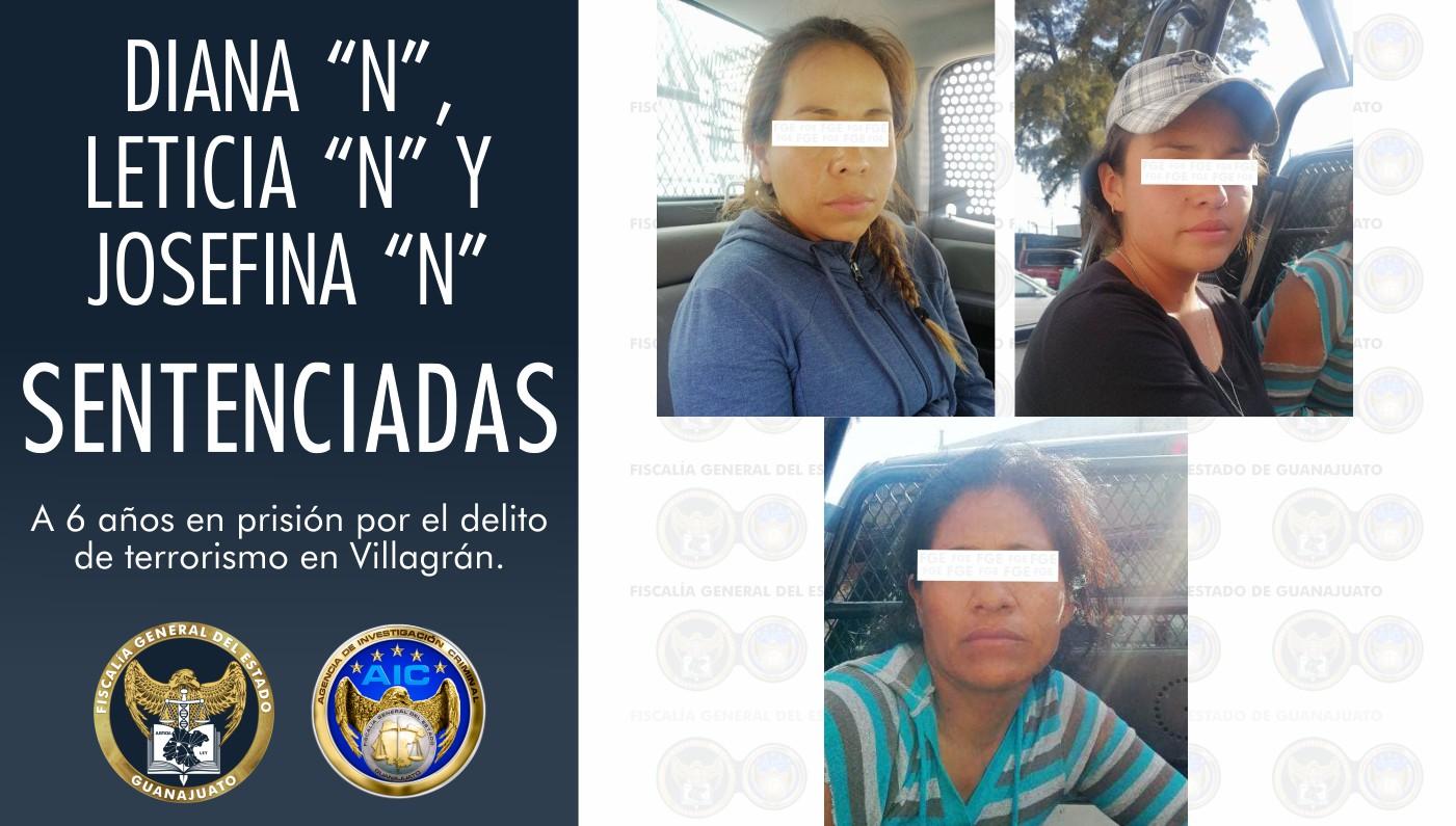 Por el delito de terrorismo, al cerrar carreteras en Guanajuato, les dan sentencia de 6 años en prisión 1