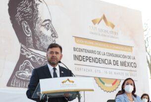 Conmemoran el aniversario de la proclama del Plan de Iguala en Guanajuato 2
