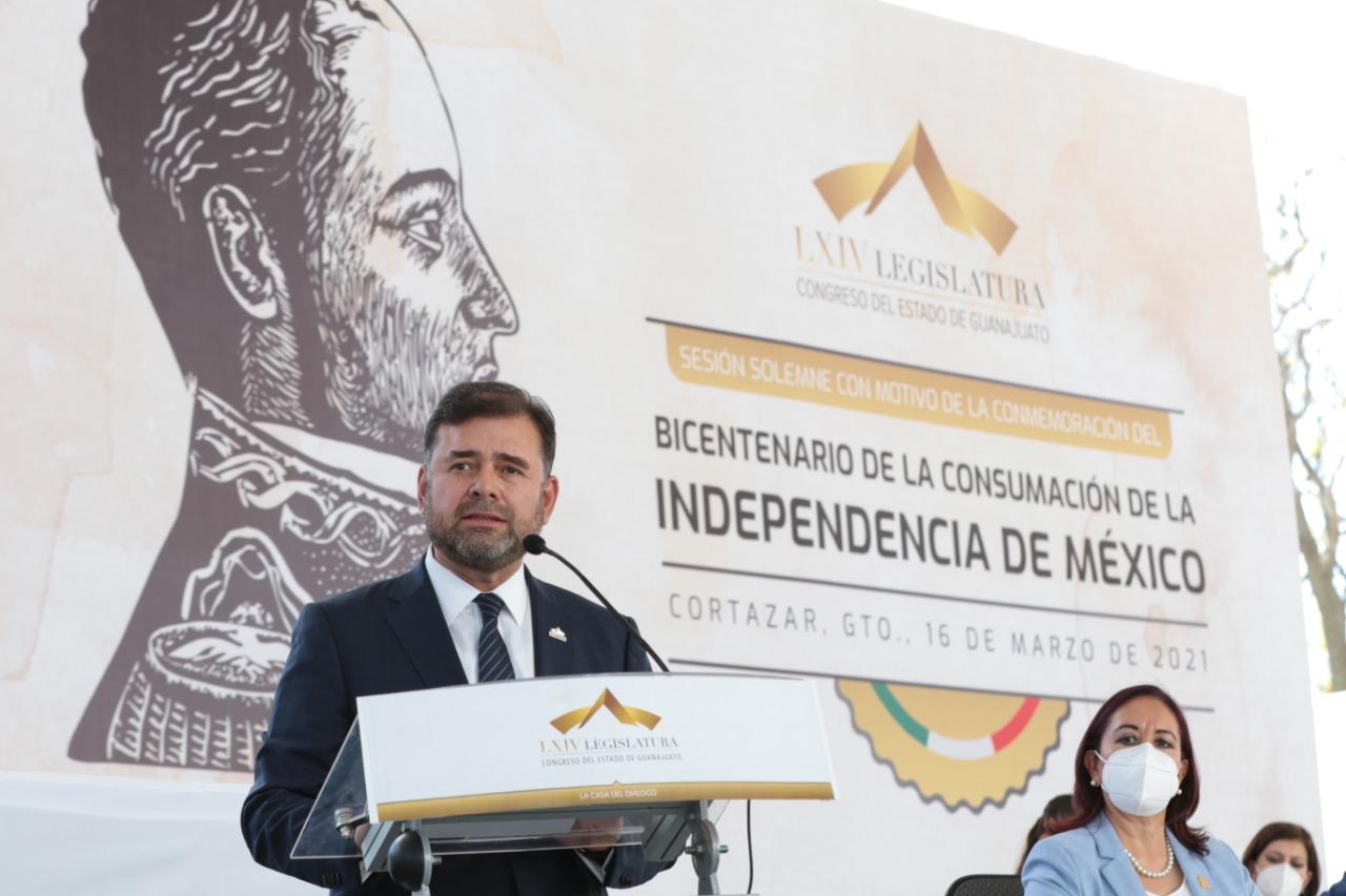 Conmemoran el aniversario de la proclama del Plan de Iguala en Guanajuato 1