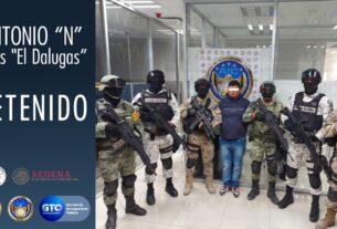 Objetivo criminal integrante del CSRL es capturado en operativo entre autoridades estatales y federales 3