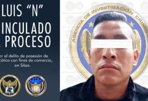 """Vinculan a proceso a policía de Silao, detenido en posesión de narcótico durante el operativo """"Trueno"""" 3"""