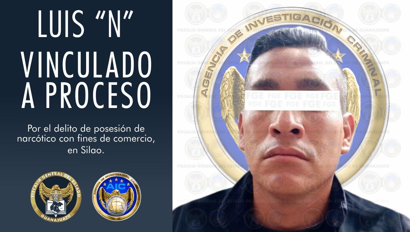 """Vinculan a proceso a policía de Silao, detenido en posesión de narcótico durante el operativo """"Trueno"""" 1"""