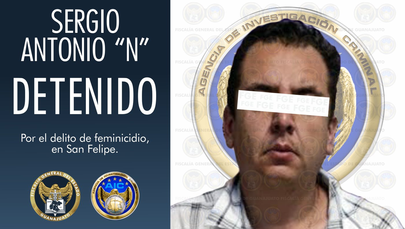 Detiene la FGEG al novio de joven leonesa, como probable responsable del delito de feminicidio. 1