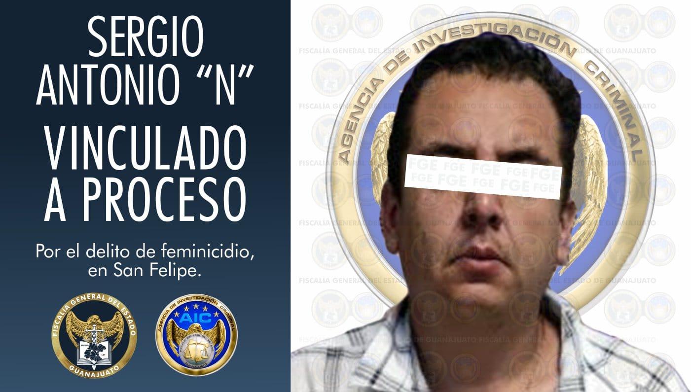 """Sergio Antonio """"N"""", es vinculado a proceso por feminicidio de la joven Lupita 1"""