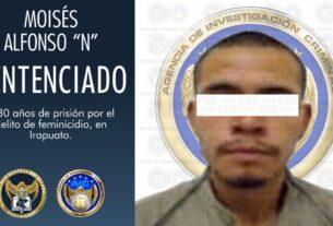 Sentencia de 30 años de prisión a hombre que mató a su pareja asfixiándola 4