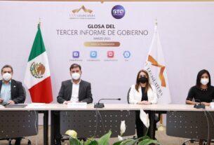 Concluyen reuniones de la glosa del Tercer Informe del Gobernador del Estado 3