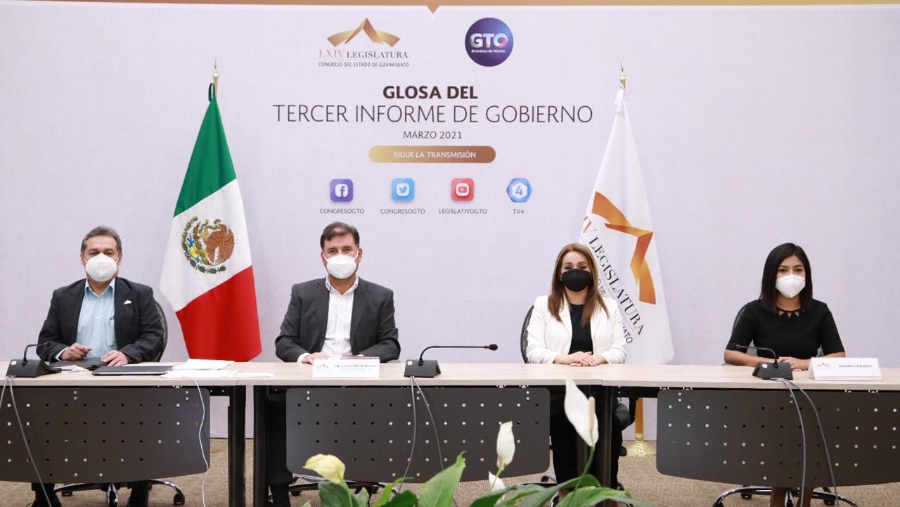 Concluyen reuniones de la glosa del Tercer Informe del Gobernador del Estado 1