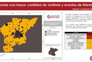 Irapuato registró 21 víctimas de homicidio doloso en Febrero 4