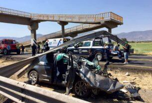 Muere en fatal accidente hermana del alcalde de Pénjamo, su papá se reporta grave. 3
