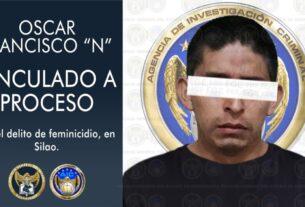"""Por feminicidio de una menor de edad en Silao, vinculan a proceso a Oscar Francisco """"N"""" 3"""