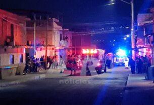 Dos muertos, una mujer y un menor lesionados, en ataque armado en la Col. Lázaro Cárdenas 2