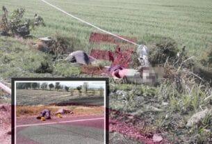 Localizan a cuatro hombres ejecutados en la carretera Huanímaro-Pueblo Nuevo 5