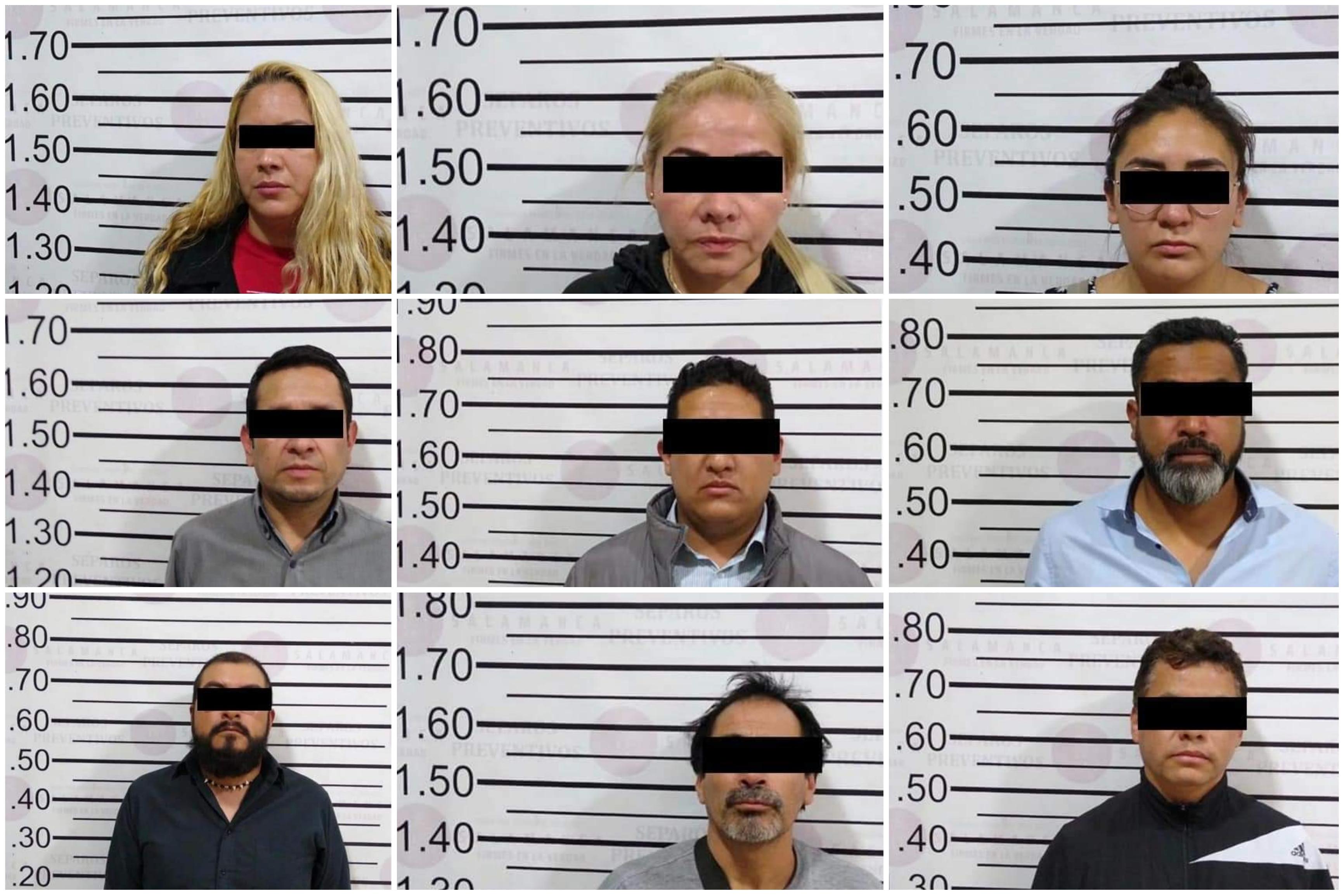 Detienen a nueve presuntos defraudadores en Salamanca 9