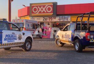 Con violencia, despojan a automovilista de su camioneta en el Libramiento Norte 4