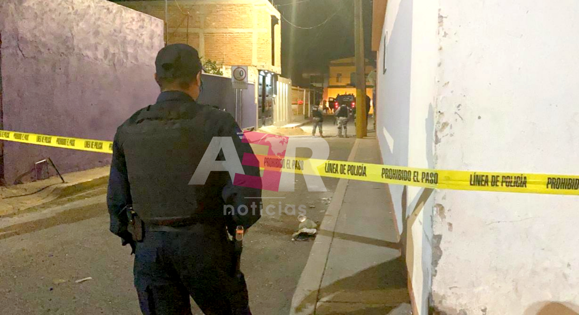 Hombres armados rafaguean e ingresan a casa en el barrio de Guadalupe 1