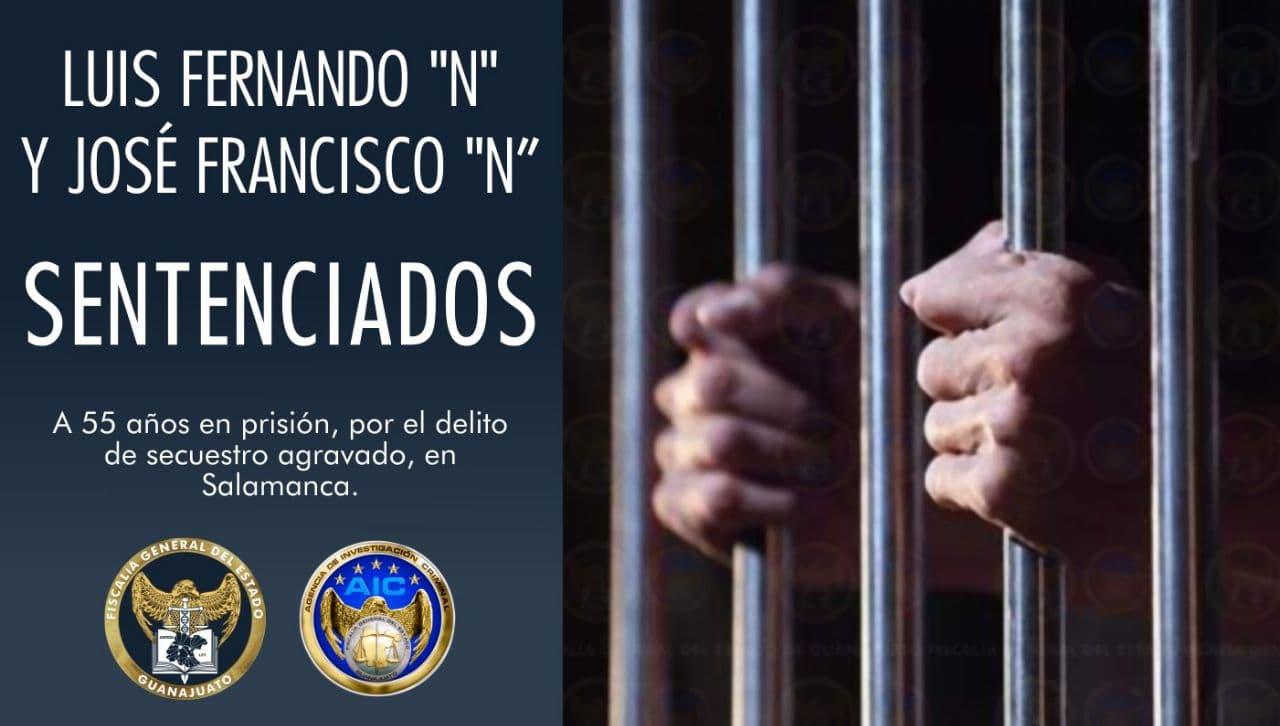 Condena de 55 años de prisión para dos secuestradores, que mantuvieron cautiva a una menor de edad en Salamanca. 1