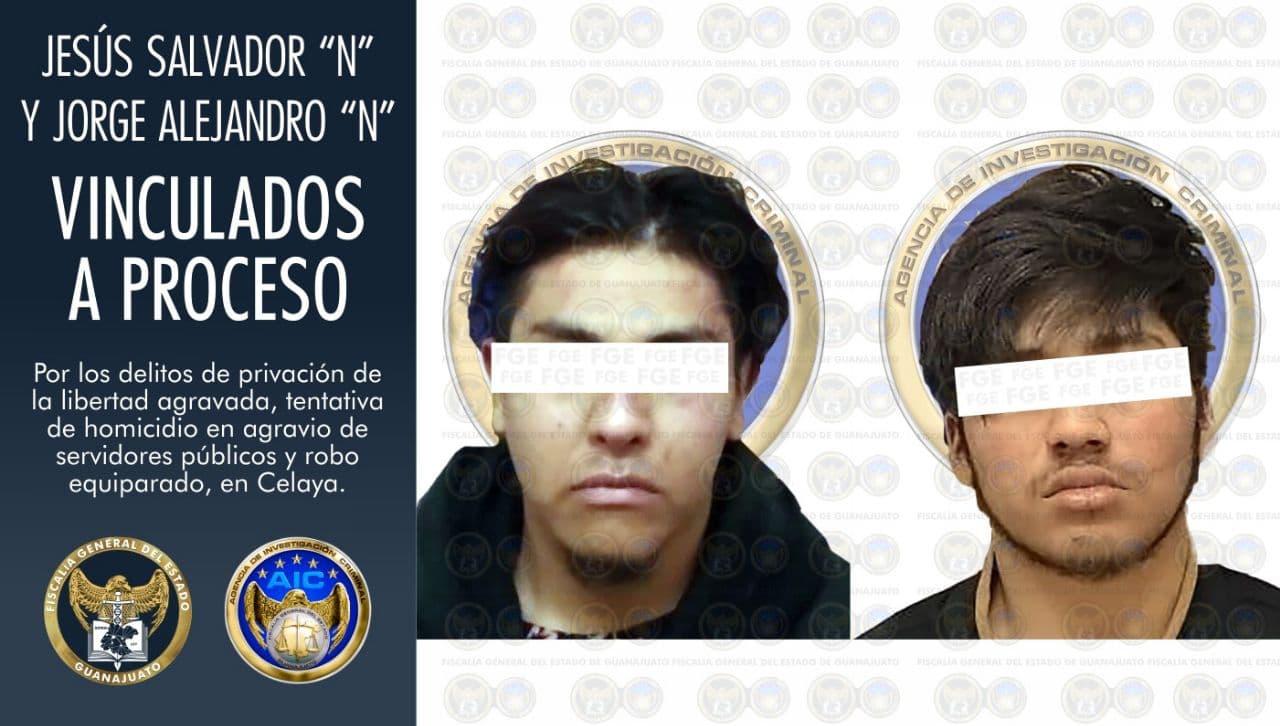 Vinculan a proceso penal a dos detenidos de un grupo delincuencial que privaron de la libertad a un hombre en un hospital en Celaya 1