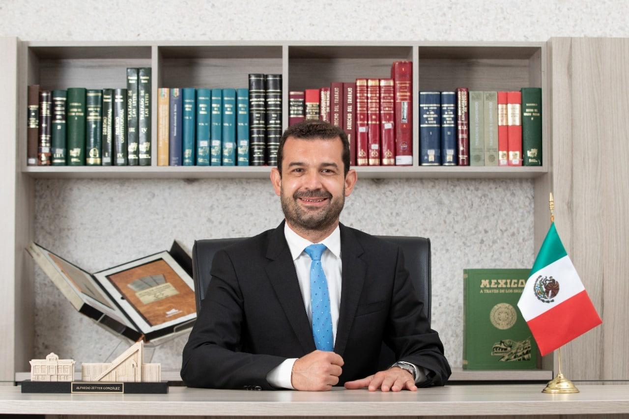 "Llama diputado Alfredo Zetter, ""a respetar al árbitro electoral"" 1"