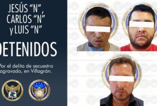 """Detiene la FGE a """"El Triste"""" líder de una célula del grupo delincuencial SRL dedicado al secuestro. 3"""