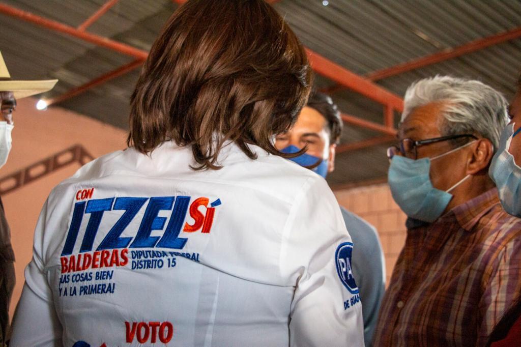 RESPALDA LA ZONA RURAL A ITZEL BALDERAS 1