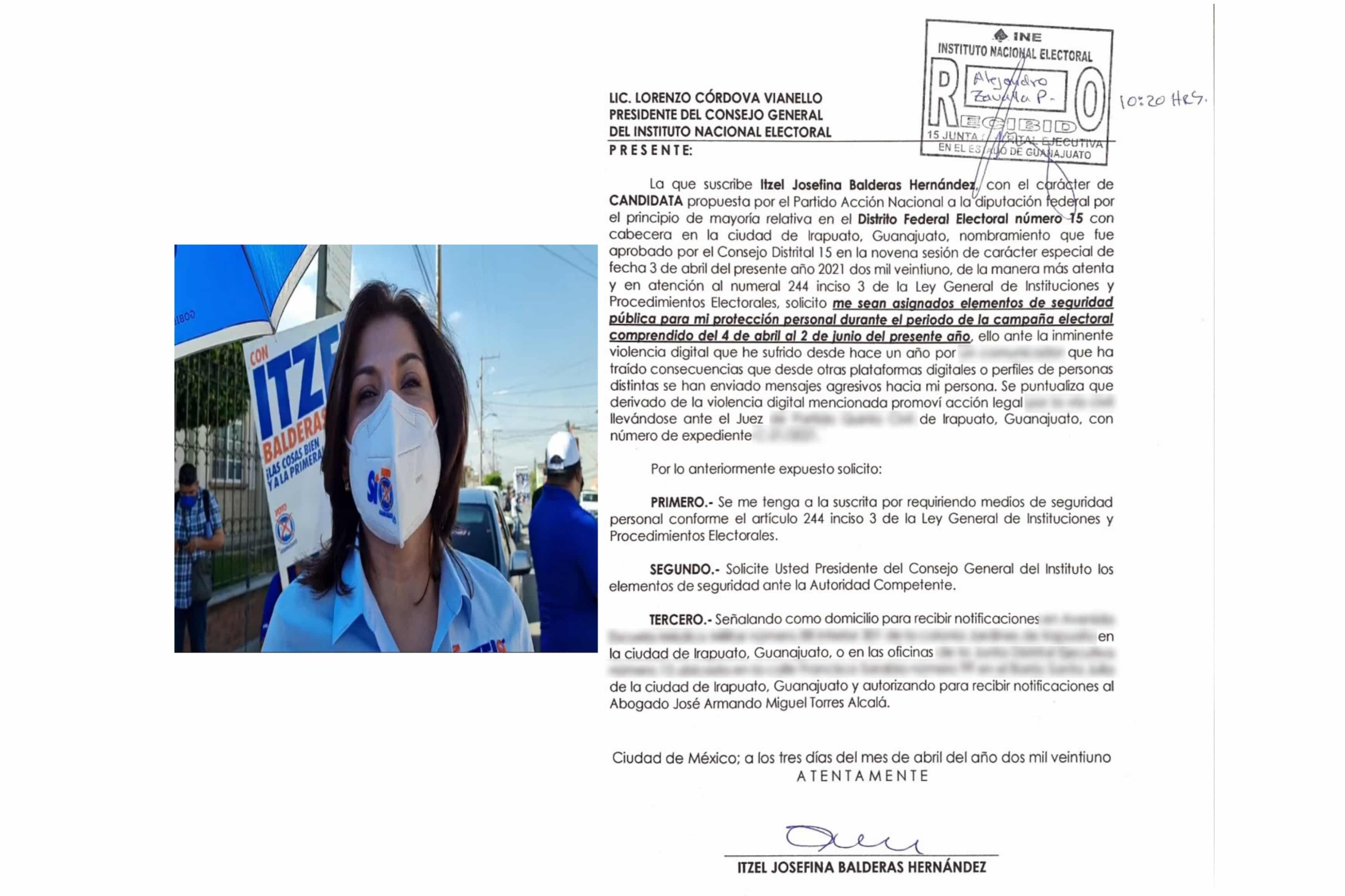 SOLICITA IB PROTECCIÓN AL INE POR VIOLENCIA POLÍTICA EN RAZÓN DE GÉNERO 9