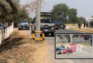 Matan a pareja en motocicleta en San Miguel Octopan 3
