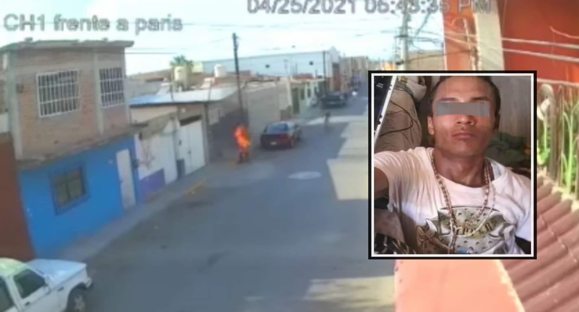 Hombre prende fuego a mujer de la tercera edad, se reporta grave 1