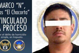 """Vinculación a proceso penal para """"El Chacorta"""", imputado por el delito de homicidio, en Irapuato. 2"""