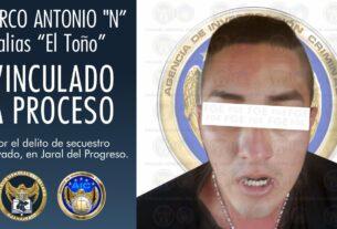 """""""El Toño"""", secuestrador en Jaral del Progreso es aprehendido por la Fiscalía General del Estado. 4"""