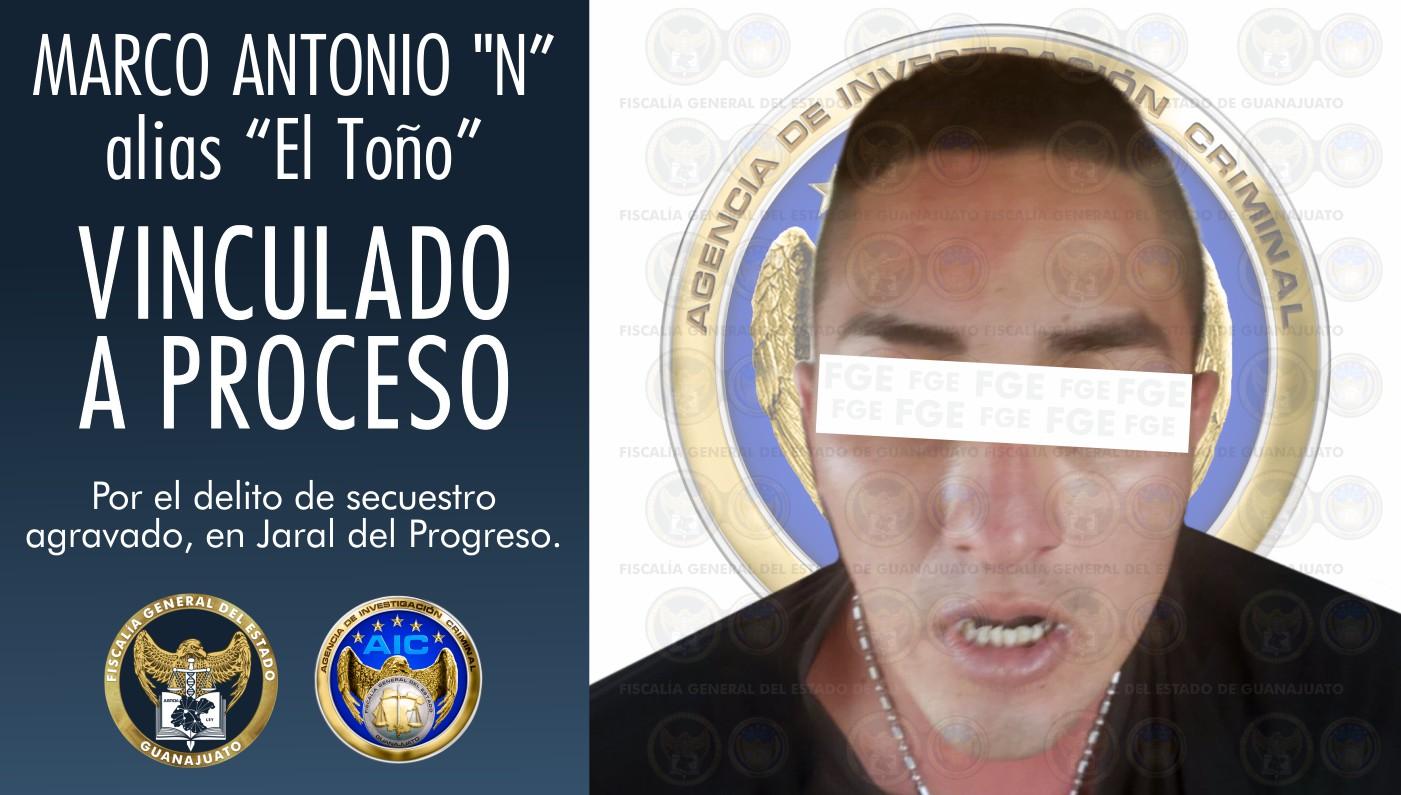 """""""El Toño"""", secuestrador en Jaral del Progreso es aprehendido por la Fiscalía General del Estado. 1"""