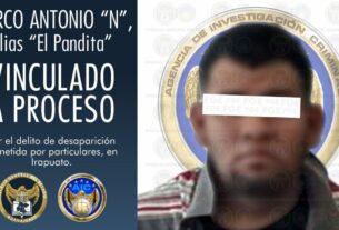 """Por el delito de desaparición cometida por particulares, la FGE aprehendió y obtuvo vinculación a proceso penal para """"El Pandita"""", en Irapuato. 3"""