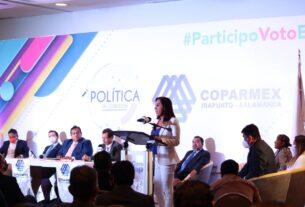 DESTACA LA PARTICIPACIÓN DE SUSY BERMÚDEZ EN EL FORO 'POLÍTICA EN CONEXIÓN' DE COPARMEX 2