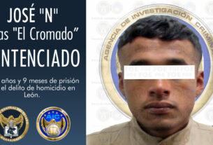 """""""El Cromado"""" es condenado a prisión, culpable del homicidio de un policía en León 3"""