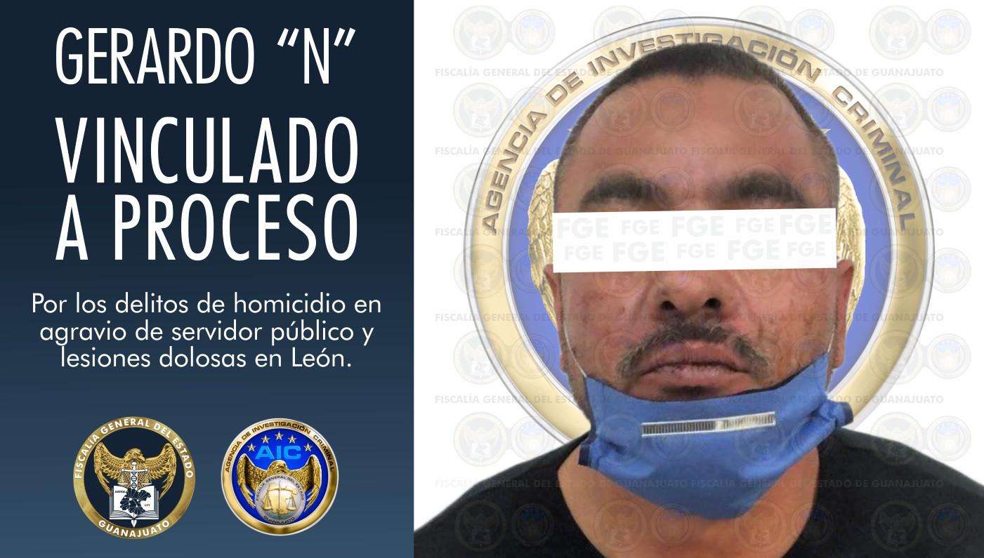 Vinculan a proceso a hombre que lesionó con arma de fuego a una mujer y privó de la vida a un elemento de Seguridad Pública de León 3