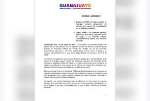 Enfrentamiento en Uriangato entre FSPE y civiles armados, deja una elemento muerta y un civil abatido 3