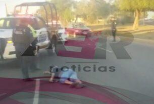 Muere conductor de motocicleta al derrapar en tramo del 4to. Cinturón Vial 3