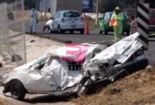 Trágico accidente en el Libramiento Norte deja a un conductor sin vida 3