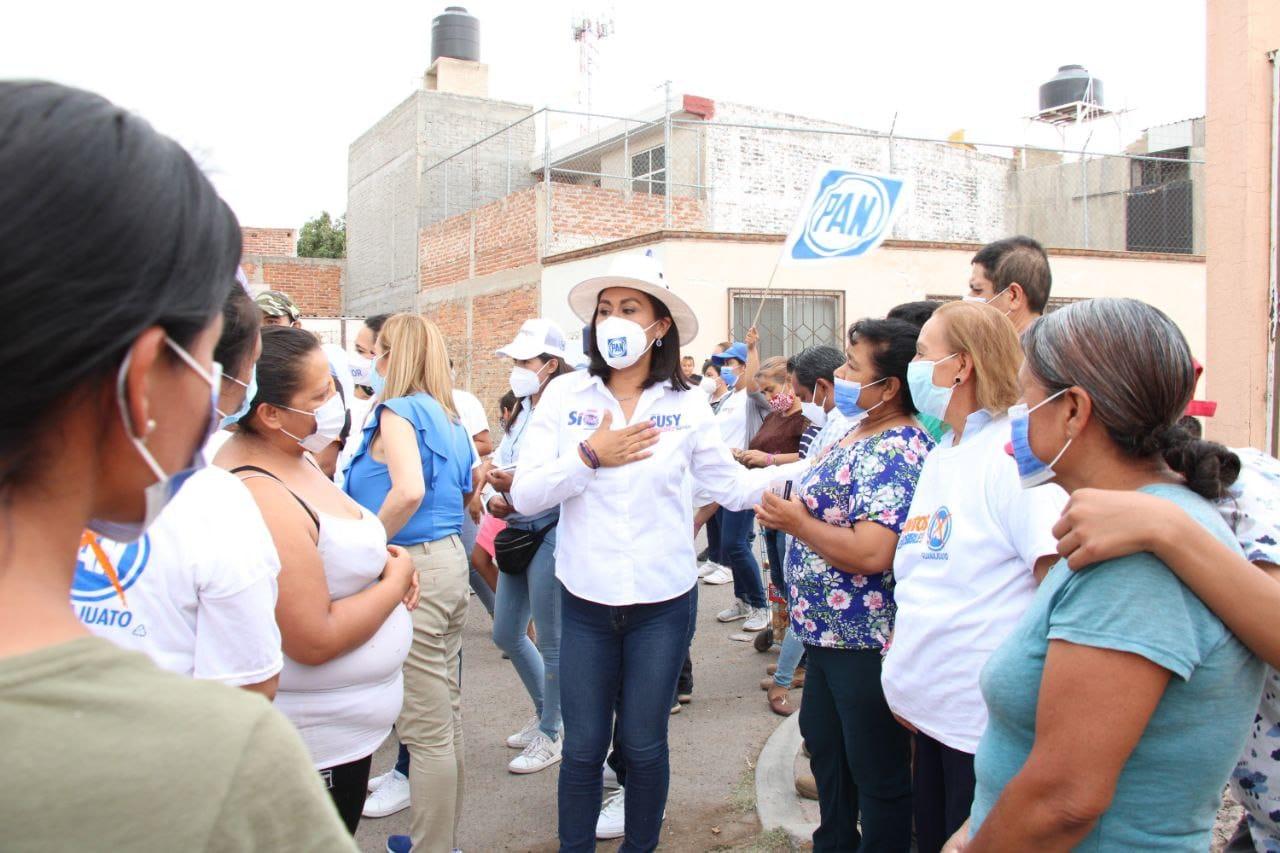 SUSY BERMÚDEZ: VAMOS A FORTALECER EL TEMA DE PREVENCIÓN EN IRAPUATO 1