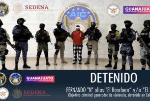 "Capturan a ""El Ranchero y/o ""El Kin"" líder de una célula de Santa Rosa de Lima 3"