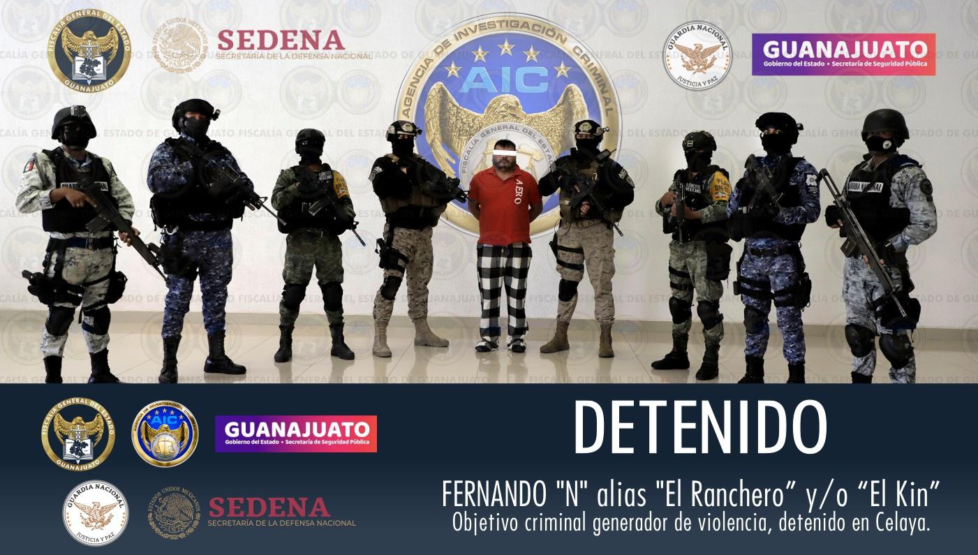 "Capturan a ""El Ranchero y/o ""El Kin"" líder de una célula de Santa Rosa de Lima 1"