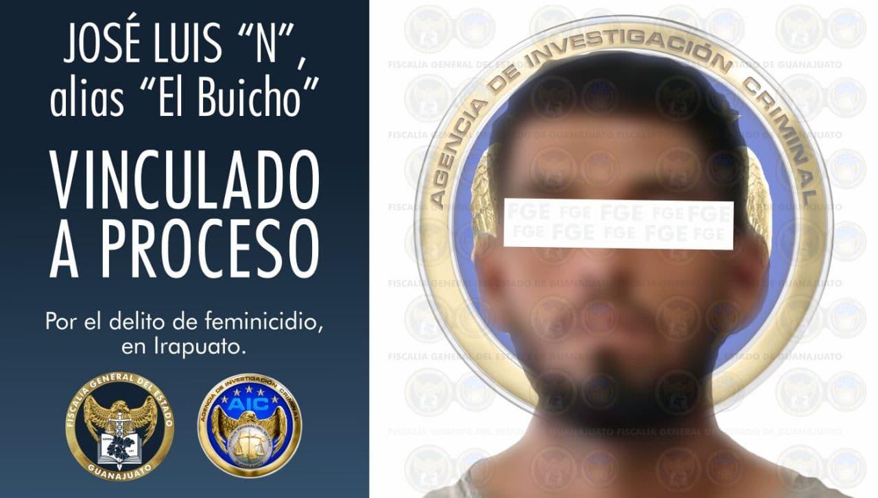 Vinculan a proceso a hombre que mató y decapitó a una mujer en Irapuato 1