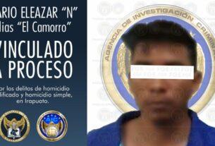 """""""El camorro"""" es vinculado a proceso por el homicidio de una pareja en Irapuato 2"""