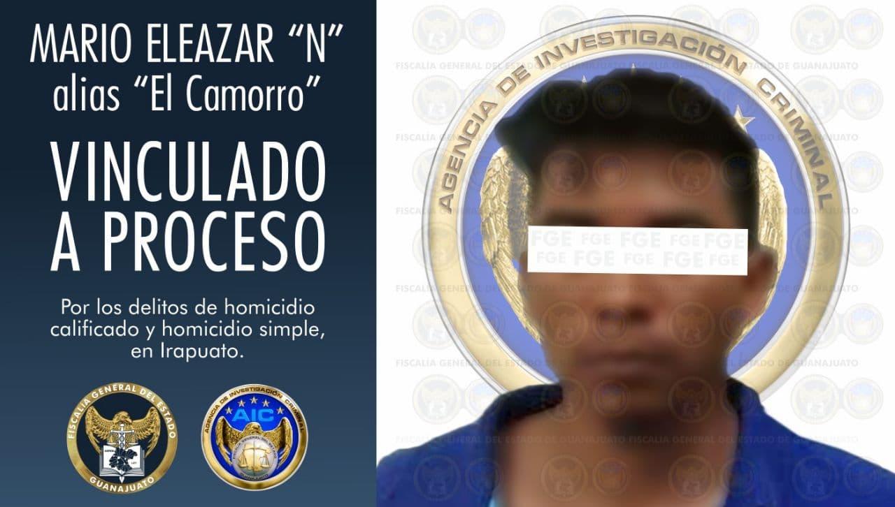 """""""El camorro"""" es vinculado a proceso por el homicidio de una pareja en Irapuato 10"""