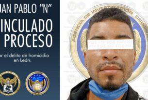 """Vinculan a proceso a Juan Pablo """"N"""", imputado por el homicidio de un interno de un anexo en León 2"""